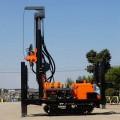 厂家直销履带式气动水井钻机 300米水井钻机 地质勘探钻机