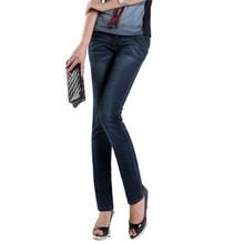 女式修身版仔裤