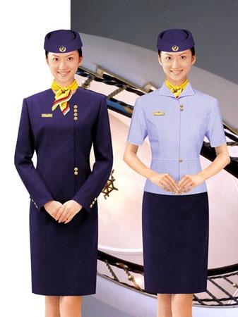 北京新款空姐制服供应欢迎看款定做加工