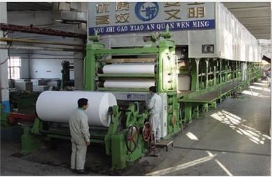 造纸机械,卫生纸造纸机,复卷机,切纸机