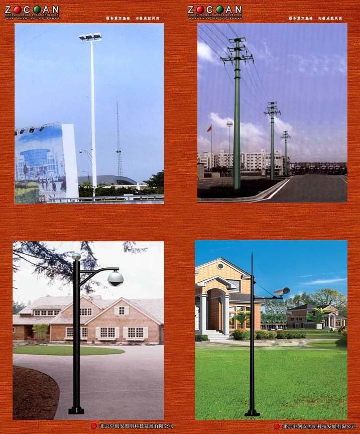 北京高杆灯,龙门架,标志杆,旗杆,路跨
