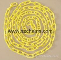 塑料链条,警示链,塑胶链,胶链,塑料警示