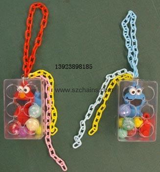 玩具链,工艺品链,饰品链,彩色链,公仔链