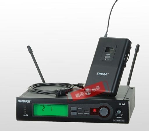 Shure舒尔SLX14/WL93无线领夹式演唱话筒 麦克风