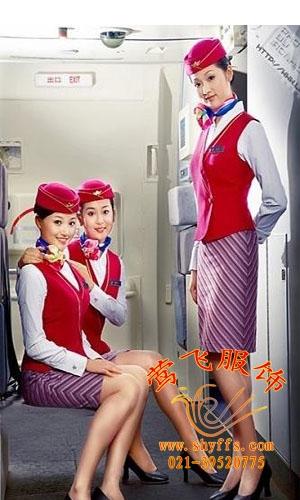 供应航空服,空姐服,定做航空工作服