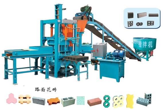彩色透水砖全自动化生产线机械设备价格