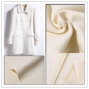 热销立绒毛毡女式优雅毛呢外套/立绒粗纺羊绒面料