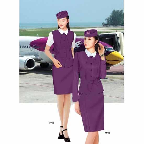 北京空姐服厂家供应欢迎看款定做加工