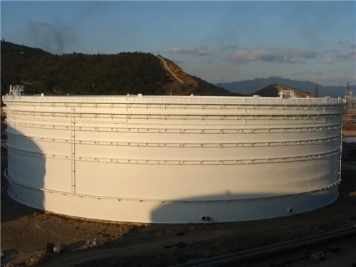 大型立式油罐安装