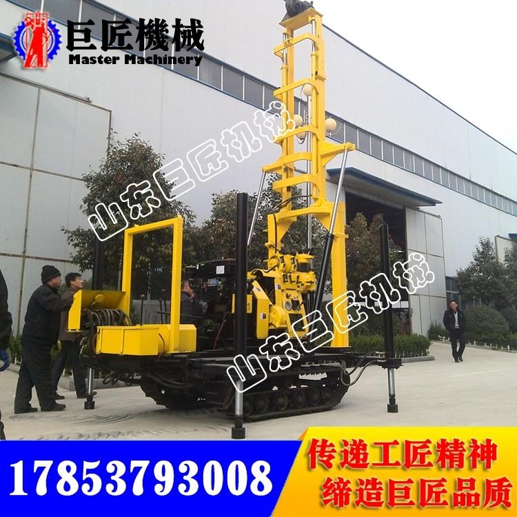 XYD-200履带式水井钻机 山东200型地质勘探机