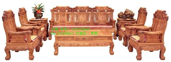 辽宁大连誉福红木家具店供应麒麟沙发|买红木家具去哪家好|怎么辨别红木家具