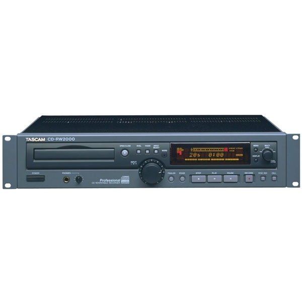 TASCAM CD-RW2000 刻录机